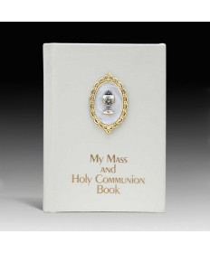 Missal for Girls with White Letherette Cover