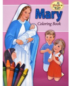Mary St Joseph Coloring Book