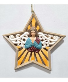 Star with Angel Ornament