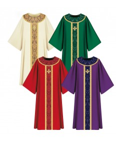 Dalmatic in Brigia Fabric by Slabbinck
