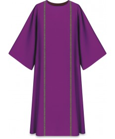 Dalmatic in Pius Fabric by Slabbinck - Purple