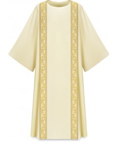 Dalmatic in Dupion Fabric by Slabbinck - Beige