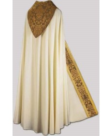Cope by Slabbinck in Brugia Fabric with Gold Galloon