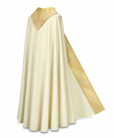 Cope by Slabbinck in Cantate Fabric with Gold Embroidery