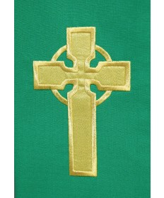 Deacon Stole with Celtic Cross Embroidery by Beau Veste