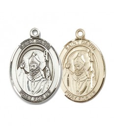 "Saint David Medal - 1"" Oval"