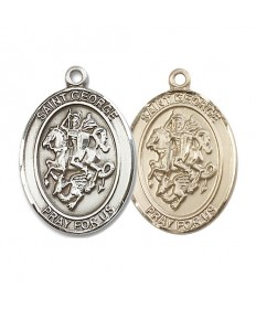 "Saint George Medal - 1"" Oval"