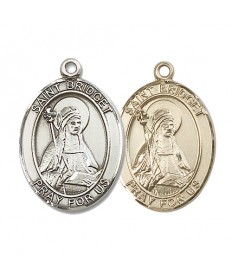 "Saint Bridget of Sweden Medal - 1"" Oval"