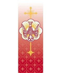 Holy Spirit nside Church Banner by Slabbinck Art Studio, Belgium