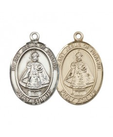 "Infant of Prague Medal - 1"" Oval"