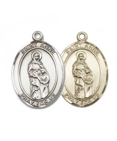 "Saint Anne Medal - 1"" Oval"