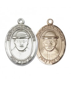 "Saint Damian of Molokai Medal - 1"" Oval"
