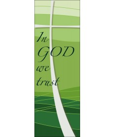Digital Printed Banner - In God We Trust