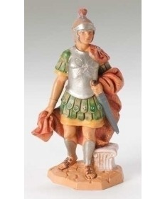 "Fontanini 5"" Alexander, Soldier with Cape"