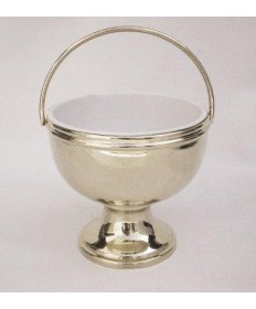 Nickel silver Holy Water Pot
