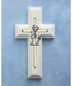 First Communion Cross for Girl 5""
