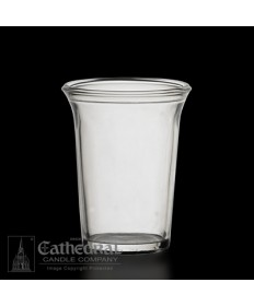 24 Hour size Crystal Votive glasses