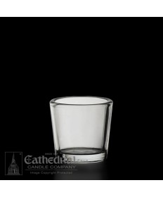 10 Hour size Crystal Votive Glasses