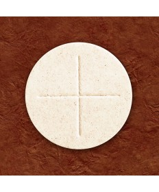 "2-3/4"" White Generic Priest Altar Bread by OCO Co. (box of 50)"