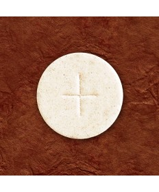 "1-3/8"" White Altar Bread by Cavanagh Co (Box of 1,000)"