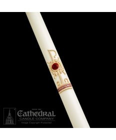Sculptwax Holy Trinity Paschal by Cathedral Candle Co