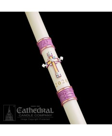 Sculptwax Jubilation Paschal by Cathedral Candle Co