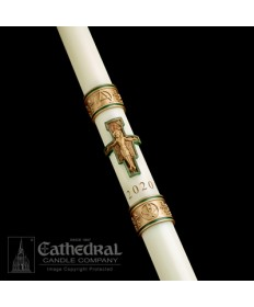 Sculptwax Cross of St Francis Paschal by Cathedral Candle Co