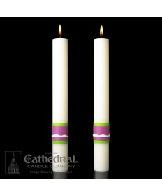 Sculptwax Easter Glory Paschal Complementing Altar Candles