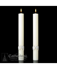 Sculptwax The Good Shepherd Paschal Complementing Altar Candles