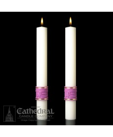 Sculptwax Jubilation Paschal Complementing Altar Candles