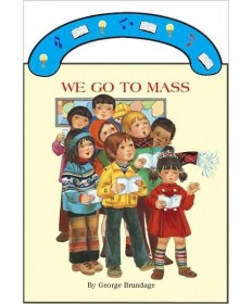 Board Book with Handle - We Go To Mass
