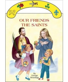 Board Book with Handle - Our Friends the Saints