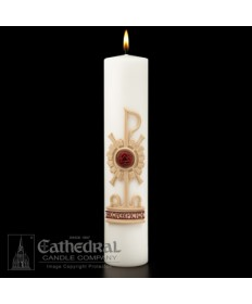 "Christ Candle Holy Trinity 3"" x 14"""