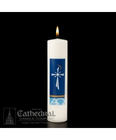 "Christ Candle Radiance 3"" x 12"""