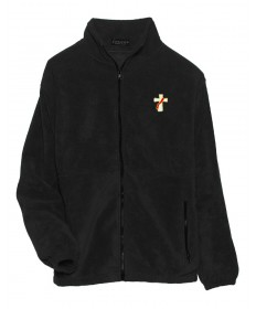 Deacon Ice Berg Fleece Jacket - Black