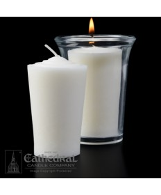 24 Hour Tapered 51% Beeswax Votive Candles