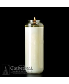 8 Day Glass 51% Beeswax DomusChristi Sanctuary Candles