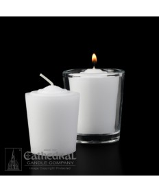15 Hour Tapered Votive Candles