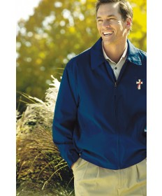 Deacon Lightweght Microfiber Jacket - Navy
