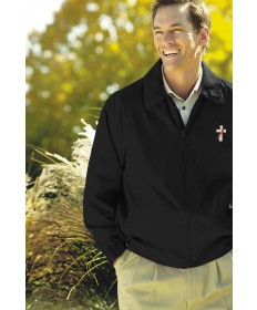 Deacon Lightweght Microfiber Jacket - Black