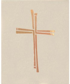 Ceremonial Binder with Cross (Series 2) - White