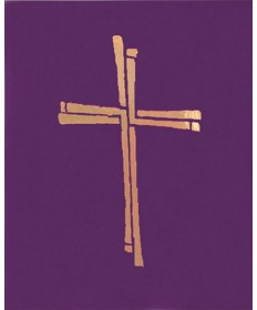 Ceremonial Binder with Cross (Series 2) - Purple