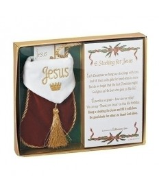 A Stocking for Jesus Ornament