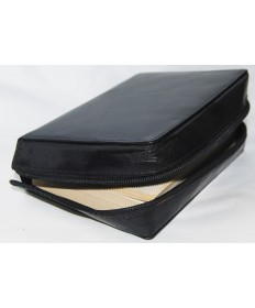 Breviary Case - Black Leather