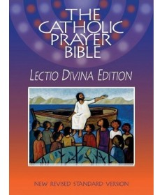 NRSV Catholic Prayer Bible Lectio Divina Edition- Clothbound