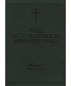NABRE New Catholic Answer Bible - Black Large Print