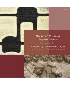 Gregorian Chant: Melodies CD - Volume 2