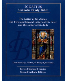 Ignatius Catholic Study Bible: James, Peter, Jude (2nd Edition)