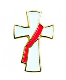 Deacon's Cross Lapel Pin