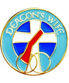 Deacon's Wife Lapel Pin